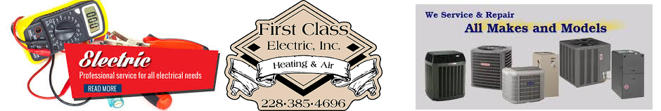 First Class Electric Inc. Heating & Air Conditioning